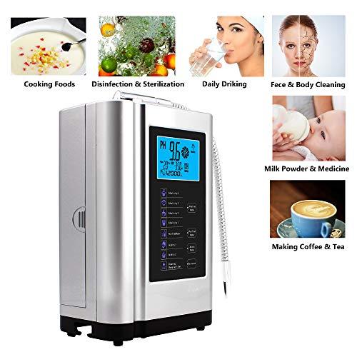 AlkaDrops Water Ionizer, Water Purifier Machine PH 3.5-10.5 Alkaline Acid Water  Machine,Up to -500mV