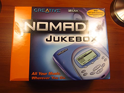 Creative Labs Nomad Jukebox (Blue)