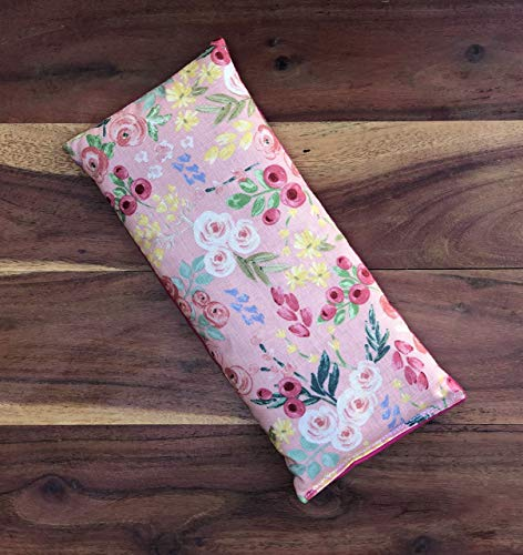 Heating Packs Microwavable, Lavender Microwave Heating Pad, Aromatherapy Heating Pad, Moist Heat Therapy, Cooling Therapy, Herbal Therapeutic Healing, Lavender Eye Pillow, Flax Seed Dried Lavender