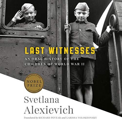 Last Witnesses audiobook cover art