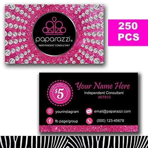 03a74fa6d0742 Paparazzi Business Cards Custom 2