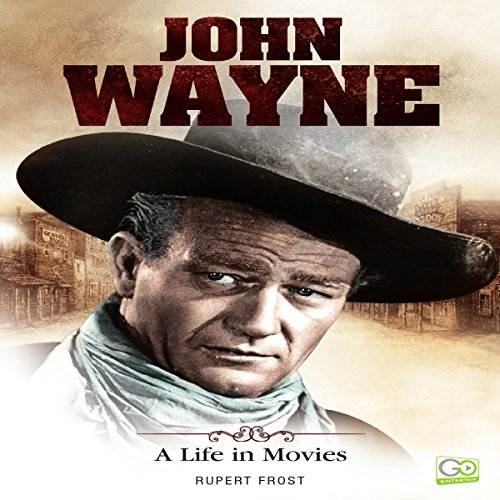 John Wayne audiobook cover art