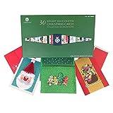 Burgoyne Hand Crafted Christmas Cards Assortment 2020-30 Pack
