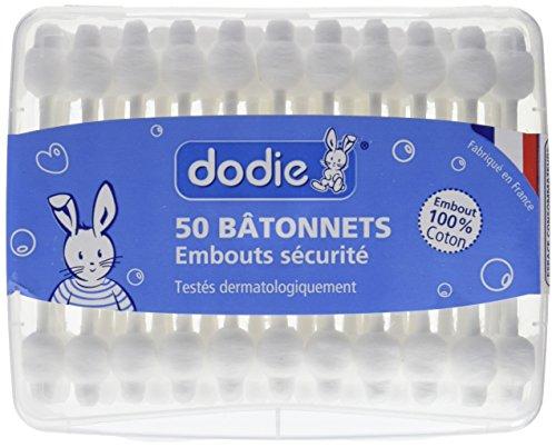 Dodie Wattestäbchen fürs Baby x50