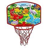 Pipix Minicanasta de baloncesto para niños, juego de juguetes de baloncesto, juego de mini canasta de baloncesto, juguete deportivo, regalo para niños y niñas