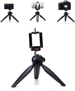 حامل ثلاثي الارجل صغير من يونتينغ Yt-228 للهاتف وللكاميرا المحمولة مع مسند يقفل بمشبك