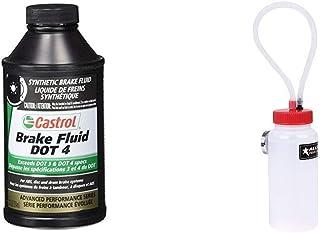 Best Castrol 12509 Dot 4 Brake Fluid (12 Oz) + Allstar Performance ALL11017 Bleeder Bottle with Magnet and Check Valve Review