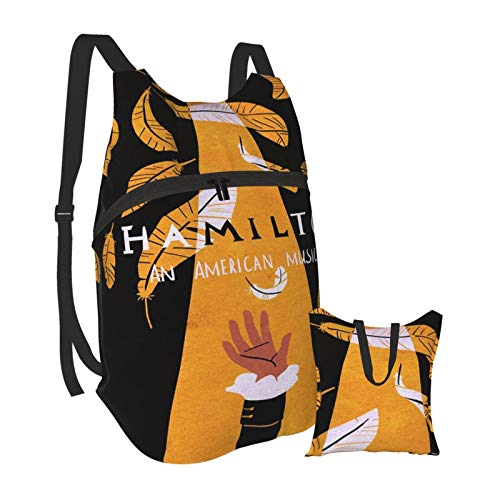 Talcholar Hamilto&n Backpacks Hiking Daypacks Small Waterproof Portable Folding Ultra Backpack