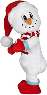 GMY Dancing Twerking Plush Animated Christmas Snowman Plays Ice Ice Baby Song