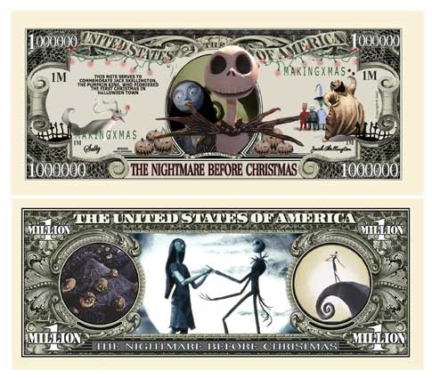 Nightmare Before Christmas Limited Edition Collectible Bill - Jack Skellington - Pumpkin King