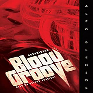Blood Groove audiobook cover art