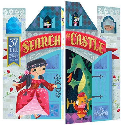 Compare Textbook Prices for Search the Castle: Double Booked: 37 lift-the-flaps inside! Juvenile Fiction, Kids' Novelty book, Children's Fantasy Book, Children's Lift The Flaps Book  ISBN 9781452173269 by Howarth, Jill