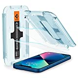 Spigen Tempered Glass Screen Protector [Glas.tR EZ Fit] designed for iPhone 13 Mini [Case Friendly] - 2 Pack