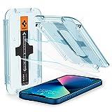 Spigen EZ Fit Protector Pantalla para iPhone 13 Mini, Alta Definicion, Dureza 9H - 2 Unidades