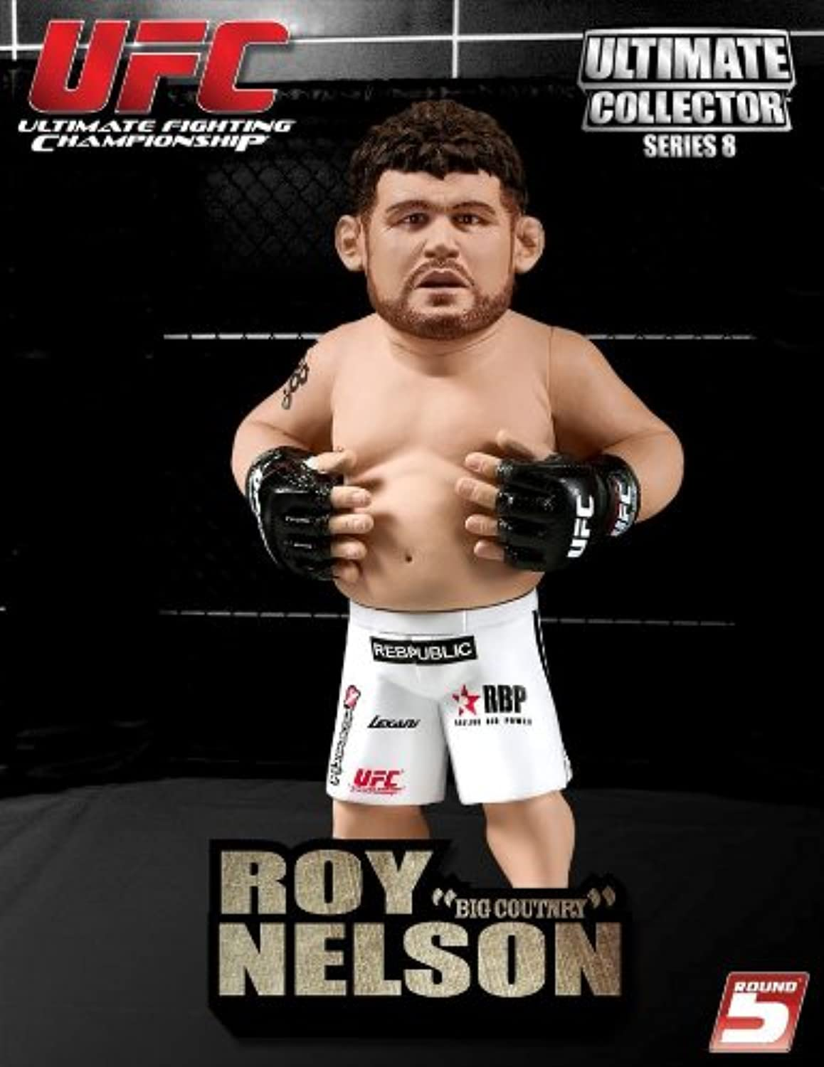 UFC Ultimate Collector Series 8 Roy  Big Country  Nelson