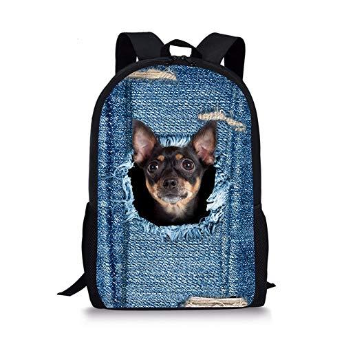 3D Animal Children Schoolbag Cute Dog Backpack Bookbag Travel Outdoor Sport Shoulder Book Bags