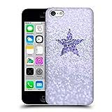 Head Case Designs Licenciado Oficialmente Monika Strigel Lila Glitter Star Pastel Carcasa rígida Compatible con Apple iPhone 5c