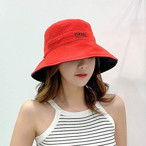 Saisma Sombrero De Pescador Día De La Mujer Sombrero Para El Sol Sombrero De Color Sólido Personalidad Sombrero Para El Sol...