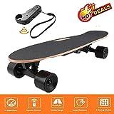 fiugsed Elektrisches Skateboard - 27,5 Zoll Longboard Skateboard...