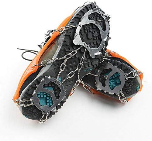 wangtao 12 40% OFF Cheap Sale Teeth Steel Ice Gripper Shoes Slip Spike Cli Choice for Anti