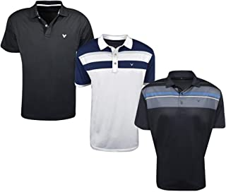 Golf- Short Sleeve Performance Polo (3 Pack)