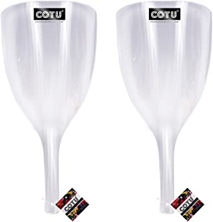 """2 x COTU (R) Transparent Face Shield for Hairspray - 13"""" Length x 5.75"""" Wide"""