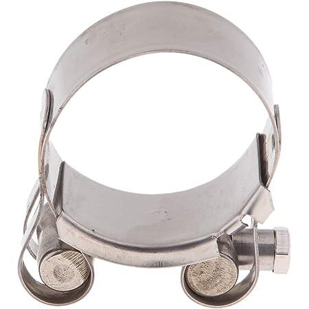 Perfeclan 1 Stück Auspuffschelle Abgasrohrleitungen Schalldämpfer 40 43 Mm 44 47 Mm 48 51 Mm 52 55mm 44 47mm Auto
