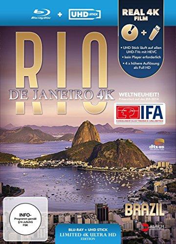 Rio de Janeiro, Brazil 4K (UHD Stick in Real 4K + Blu-ray) - Limited Edition [Blu-ray]