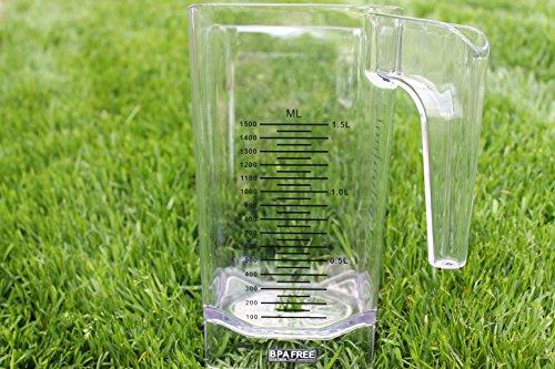 Behälter JTC Omniblend Ersatzbehälter Saro Tom BPA frei 1,5 Liter