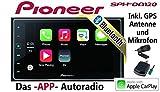 Pioneer SPH-DA120-2DIN USB Bluetooth Apple CarPlay...