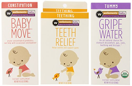 Wellements Organic Baby Remedy Essentials Pack of 3( (1) Baby...