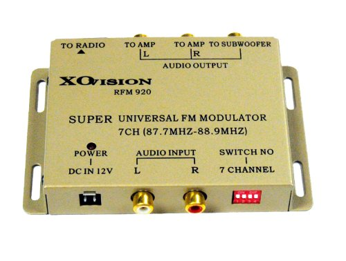 XoVision RFM920 7 CHANNEL Universal FM MODULATOR