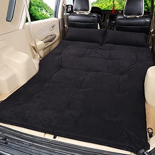Lying Lit Gonflable Bed SUV Car, Outdoor Sleeping Mat Travel Bed Car Mat Camping Housse Anti-humidité Fournitures de Voiture de Vacances Portable Folded 190  126cm trouver