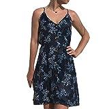Taigood Vestito Donna Estate V Senza Mini Vestito Stampa Beach Dress Elegante Casual T-Shirts Vestito