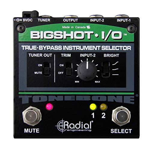 Radial Tonebone BigShot I/O True Bypass Instrument Selector