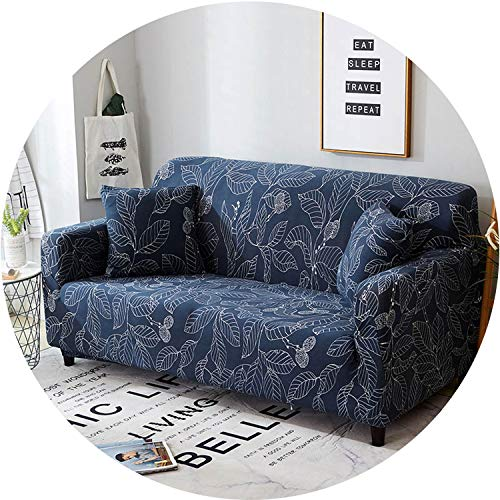 Little Happiness- Elastic Spandex Sofa Cover Tight Wrap All-Inclusive Couch Covers for Living Room Sectional Sofa Cover Love Seat Patio Furniture,Color 13,Cushion Cover 2pcs