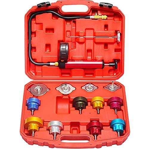 AutoWanderer Tool Radiator Pressure Tester Kit & Coolant...
