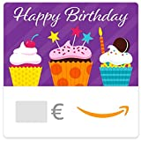 Digitaler Amazon.de Gutschein (Happy Birthday Cupcakes)