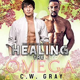 Healing the Omega audiobook cover art