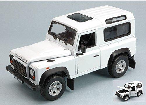 Land Rover Defender, weiss, Modellauto, Fertigmodell, Welly 1:24