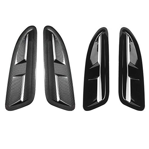 black Akozon Hood Pins with Accessories CNC Aluminum Alloy Universal Car Racing Hood Pin Lock Appearance Kit