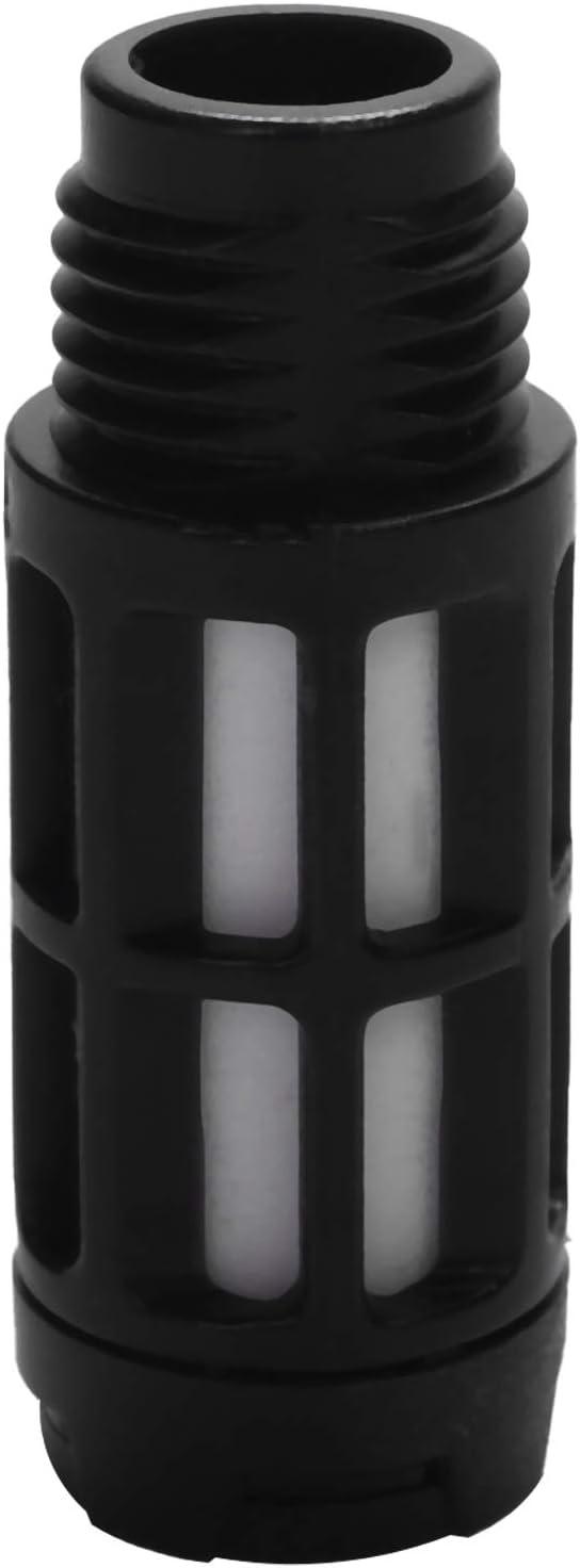 Yaootely 1//4 Pneumatic Turbine Vibrators Silent Golden Industrial Vibrator For Hopper Industrial Pneumatic Vibrator Oscillator Ball Type K-8