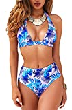 UMIPUBO Bikini de Mujer Conjunto de 2 Piezas de Cuello Halter Traje de...