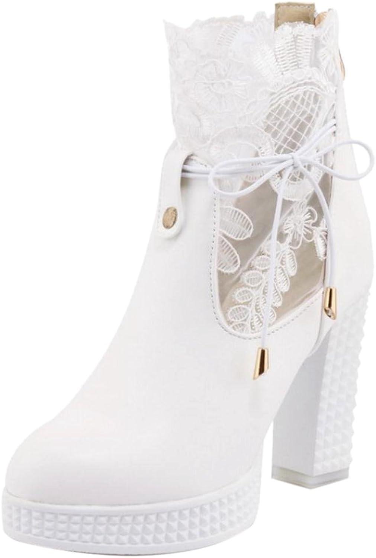 KemeKiss Women Stylish Platform Short Boots