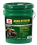 TRIAX Agra UTTO XL Synthetic Blend Premium Tractor Hydraulic & Transmission Oil - Extreme Performance - Replaces Most OEM Fluids (1 x 5 GAL Pail)