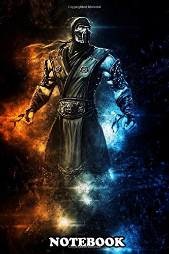 Notebook: Subzero Mortal Kombat , Journal for Writing, College Ruled Size 6' x 9', 110 Pages