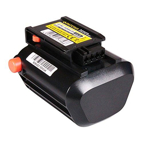 PATONA Bateria BLi-18 Li-Ion 2000mAh 18V para Gardena TCS Li-18/20   EasyCut Li-18/23 R   EasyCut Li-18/50   THS Li-18/42   8866   8877   8881   9335   9823   9825