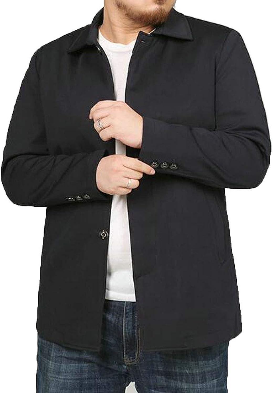 6829069231c XTX Men Regular Fit Spread Collar Single Single Single Breasted Slim Fit  Lightweight Sportswear f5d717