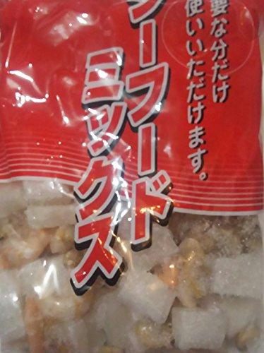 シーフードミックス ( イカ、あさり、海老 ) 800g×10袋 業務用 冷凍