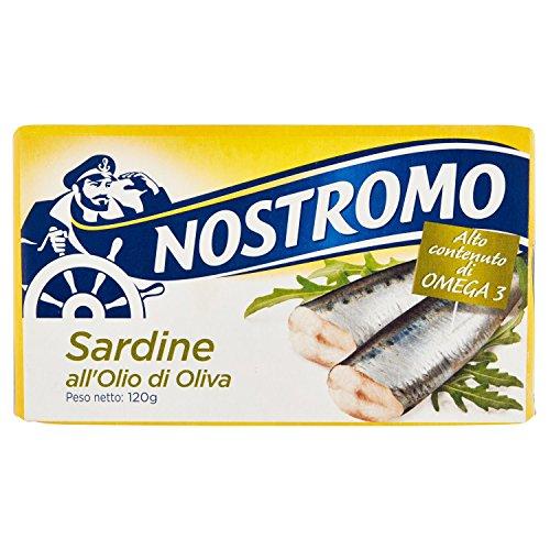 Nostromo - Sardine, all'Olio di Oliva - pezzo da 120 g